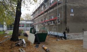 We wrześniu 2017 podpisano umowę z wykonawcą oraz rozpoczęto prace budowlane