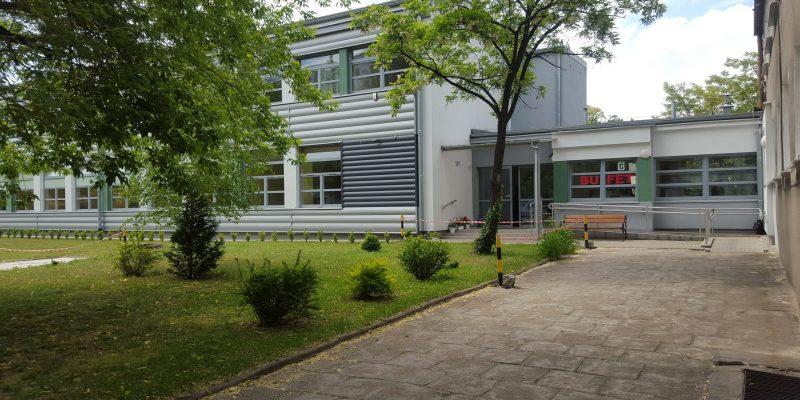 CKZ - budynek C (wejście)