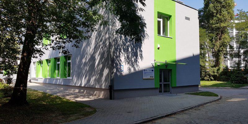 CKZ - budynek B (wejście)