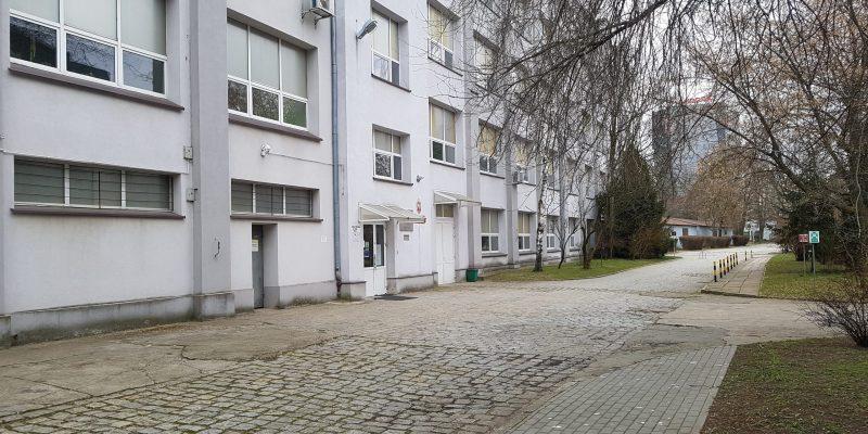 CKZ - budynek A (wejście)